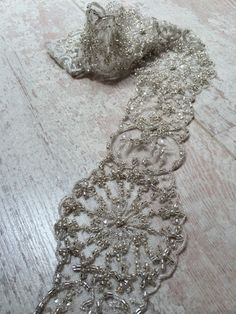 Crystal Trim | Ideal for Bridal wear, Great Gatsby themed parties, New Years glitz and glam or occasion wear! www.arubanesque.ie