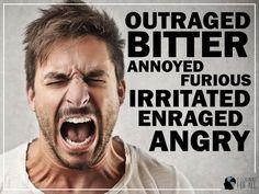 Sinônimos de angry. Expanda seu vocabulário em inglês.