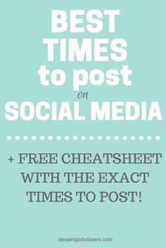 Ultimate guide to the best times for bloggers to post on social media for top engagement!