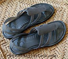 May 20th 2013, new pair of crocs sandals ^_^.