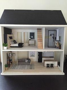 wooden doll house in Dolls, Bears, Houses, Miniatures, Houses | eBay