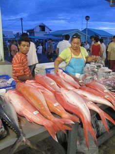 The Fish Market of Apia capital of Samoa Posted via email from Nomadic Republic2