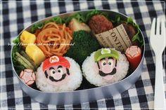 Mario and Luigi bento