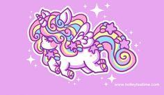 Resultado de imagen para unicorn kawaii