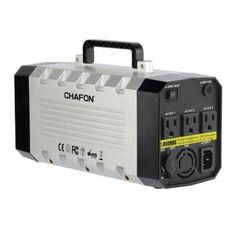 CHAFON Portable Power Station Lithium Battery Pure Sine Wave AC Outlet,Solar Generator for Outdoors Camping,Road Trips,Emergency(Space Grey) Solar Panel Installation Cost, Solar Panel Cost, Solar Panels For Home, Best Solar Panels, Solar Panel System, Panel Systems, Portable Generator, Battery Generator, Power Energy