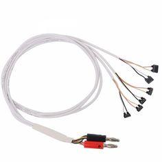 Kaisi CC fuente de alimentación de corriente de teléfono prueba de reparación de cable herramientas para iPhone 7/7 Plus/6 / 5S / 5C / 5/4S/4