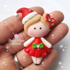 Polymer Clay Ornaments, Polymer Clay Figures, Cute Polymer Clay, Cute Clay, Polymer Clay Dolls, Polymer Clay Charms, Polymer Clay Projects, Polymer Clay Creations, Clay Crafts
