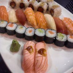 I <3 #sushi !!! #cena #sushitada #love #maki #niguiri #ilovesushi