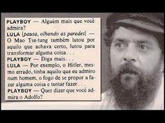 """Resgatado Entrevista memorável de Lula (em 1979) elogiando o """"Adolfo Hit..."""