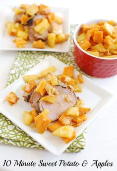 The Sweet Potato & Apple Saute is ready in 10 minutes and makes a ...