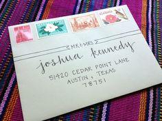 Handwritten Envelopes Inverted Arrow Style by LaPlumaFeliz, $1.00