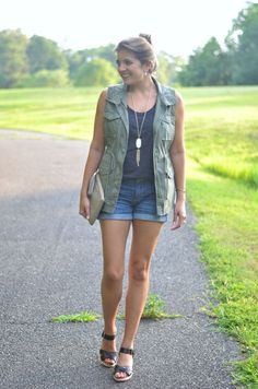 Shorts & a Utility Vest - Fizz and FrostingFizz and Frosting