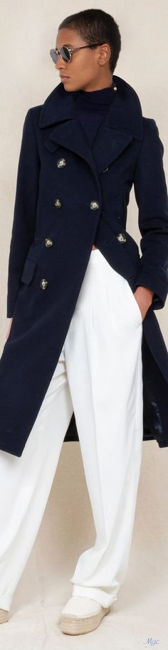 Spring 2021 RTW Polo Ralph Lauren Weather Wind, Catwalk, Polo Ralph Lauren, Collections, Street Style, Navy, Spring, Women, Fashion