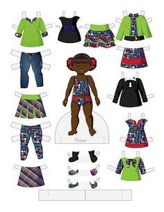 Paper Doll School: Toddler Fashion Friday - Karasi
