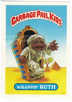 Vintage 1986 Garbage Pail Kids GIANT by CollectorsWarehouse, $1.99