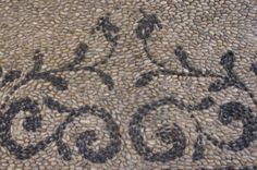 Pebble mosaic Greek Islands
