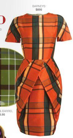 Tartan Barney's Dress