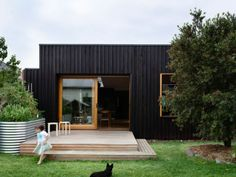 backyard, outdoor, beautiful small deck