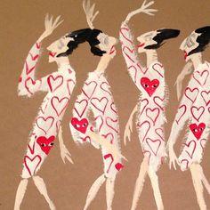 Impossible Collaborations – Diana Vreeland vs Rei Kawakubo Illustration by Donald Drawbertson