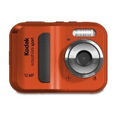 """{Kodak EasyShare 12 MP Waterproof Digital Camera} So we bought our girls """"kids cameras"""" and it was a waste of money. You're better of buying something inexpensive and durable like this little Kodak and attaching a strap! and Accessories Photography 101, Photography Equipment, Underwater Photography, Camera Photography, Digital Photography, Underwater Photos, Cameras Nikon, Kodak Camera, Camera Deals"""