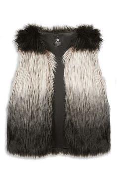 Primark - Ombre Faux Fur Gilet