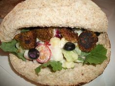 Greek Potato Salad Double Duty Dinner, Part 2. Falafel Pitas | Fork In The Road