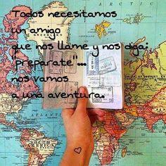 Todos necesitamos un compañero de viaje