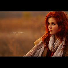 red hair, light. gorgeous