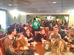 Our Chili Dinner for our Shamrock philanthropy week!