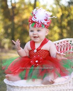 Christmas Baby Tutu DressRed Green Newborn Toddler TutuTutu DressTutu DressesChristmas Infant For Babies
