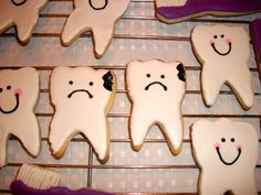 Sweet Tooth - with cavities Cookies