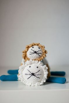 Crocheted Lion #amigurumi