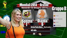 Spagna Olanda 1-5 Robben e Van Persie - Mondiali 2014 Gruppo B