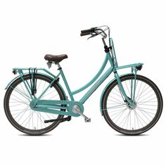 Vogue transportfiets Elite Plus dames 50cm mint groen 1020331