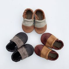 Two-Tone Loafer Baby and Toddler Shoes Distressed /Chocolate ,Tribe/Beige,Cogna