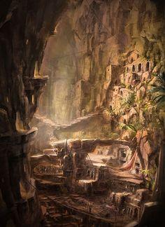 Underground City by Max Qin