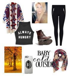 """""""Baby it's cold outside"""" by bludream-blog on Polyvore featuring mode, Look by M et Lipsy"""