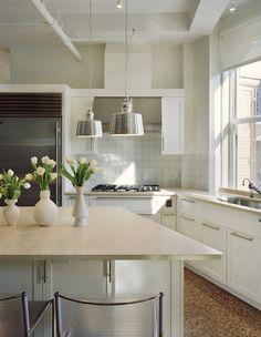 Hudson Street Loft  #loft #NYC #modern #kitchen Cabana, Modern Interior, Modern Apartments, Loft, Interiors, Street, Architects, Kitchen, Nyc