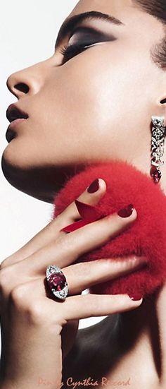 Crystal Renn for Vogue Paris | cynthia reccord