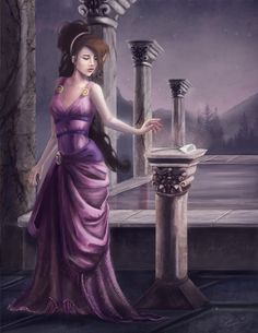 "I Won't Say... by enveniya.deviantart.com on @deviantART - Megara from Disney's ""Hercules"". The original movie's animation is very stylized, so it's neat to see how someone turned it into a more semi-realistic style."