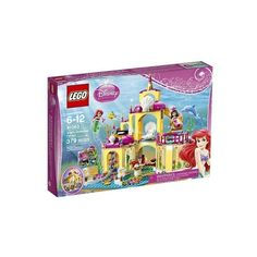 LEGO brand Disney Princess Ariel's Undersea Palace 41063 (880 MXN) ❤ liked on Polyvore featuring toys