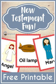Play Headbanz, pictionary, grab bag, and more with these free New Testament cards! Lds Primary, Primary Teaching, Primary Lessons, Lessons For Kids, Fhe Lessons, Youth Lessons, Visiting Teaching, Object Lessons, Piano Lessons