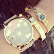 Polka Dot Watch - WATCH