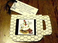 Chicken Soup chicken. Sells for 6.99. Sold separately are the other items used in the examples. Made by Art Impressions Rubber stamps. You can purchase all items in my ebay store: Pat's Rubber Stamps & Scrapbooks, Click on the picture & see the listing , or call me 423-357-4334 with order, We take PayPal. You get FREE SHIPPING ON PHONE ORDERS of $30.00 or more. If it says sold I have more. Use my search engine to find the items you are interested in