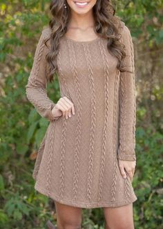 A Line Sweater/Skater Dress 5 Colors