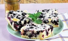 Kefírový koláč s borůvkami - My site Kefir, Acai Bowl, French Toast, Cheesecake, Paleo, Food And Drink, Sweets, Fruit, Breakfast