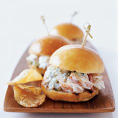 Lobster Sliders Reci