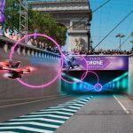 Pour le Paris Drone Festival 2017 les courses de drones se tiendront une nouvelle fois sur les Champs-Elysées !