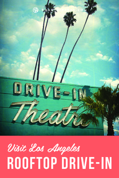Now you can see your favorite flicks from the comfort of your own car against backdrop of the downtown LA skyline.