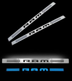 Recon Electroluminescent Door Sills 02-up Dodge Ram - Click Image to Close